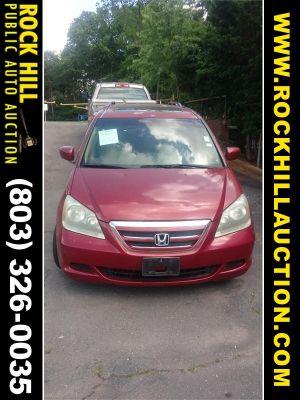 2005 Honda Odyssey EX-L (Burgundy)