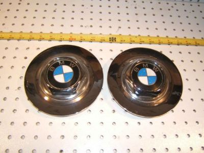 Find BMW 88 750il E32 wheel CHROME Metal center OEM 2 Caps with BMW Logo,36.131180076 motorcycle in Rocklin, California, United States, for US $125.00