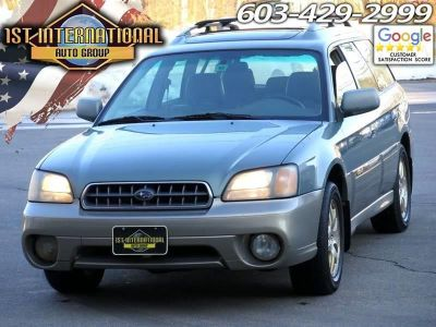 2003 Subaru Outback Limited (Green)