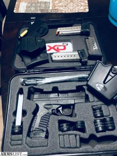 For Sale: XDS 9mm with extras.