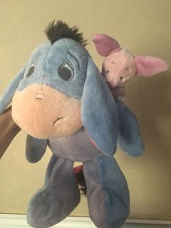 Eeyore plush with piglet with tags from Disney Parks