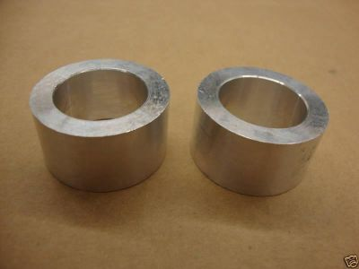 "Purchase 1"" ALUMINUM REAR WHEEL SPACER 3/4"" THICK -SET OF 2 BIG DOG HARLEY CUSTOM motorcycle in Lyons, Kansas, US, for US $9.99"