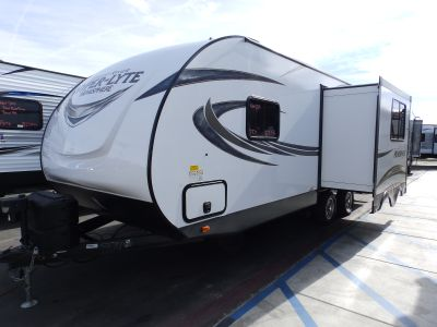 2018 Forest River SALEM HEMISPHERE 24RKHL, 1 SLIDE, REAR KITCHEN, POWER AWNING, POWER STABILIZER JACKS, EXTREME WEATHER PACK