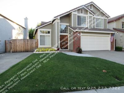 Beautiful 5 Bed, 3 Bath home in perfect San Ramon location
