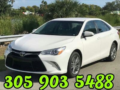 2015 TOYOTA CAMRY SE ONE OWNER