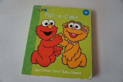 Sesame Street Beginnings Pat-a-Cake and other first baby games Board Book