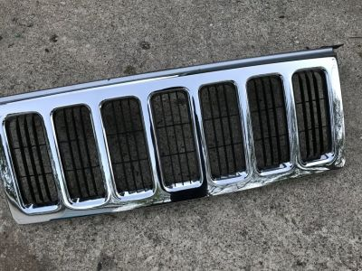 front upper chrome Jeep commander 2006-2010 grill