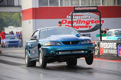 97 Mustang Cobra Drag week car