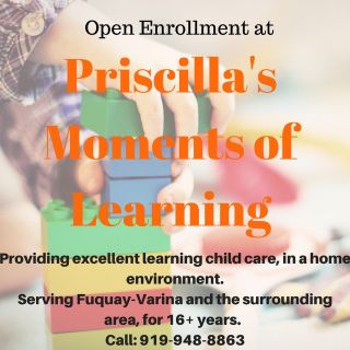 Priscilla's Moments of Learning Daycare