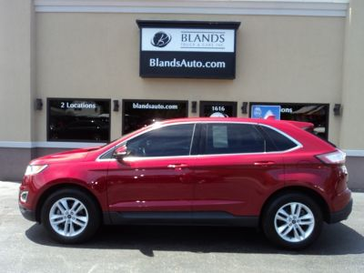 2015 Ford Edge SEL (Ruby Red Metallic Tinted Clearcoat)