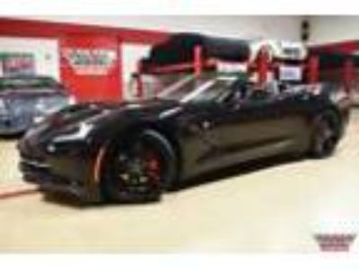 2015 Chevrolet Corvette Stingray Convertible Black Corvette Stingray Convertible