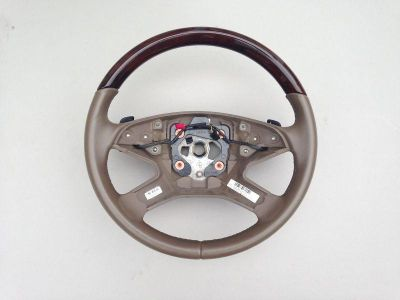 "Sell 2010-2011 MERCEDES BENZ ""ML 350/450/550"" WOOD + LEATHER STEERING WHEEL MBZ OEM motorcycle in Hollywood, Florida, US, for US $129.00"