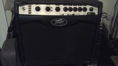 Amp and pedal