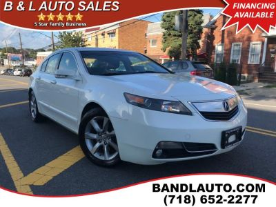 2012 Acura TL w/ Technology Package (Bellanova White Pearl)