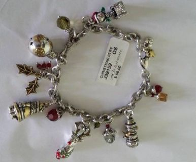 Brighton Christmas Story Charm Bracelet- New with tag