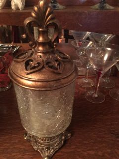 Gorgeous glass container