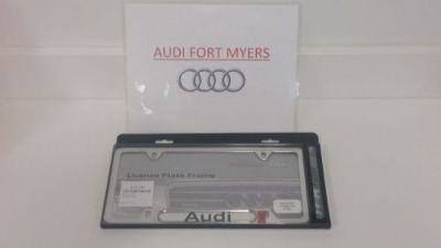 Find AUDI LICENSE PLATE FRAME OEM Brand New ZAW-355-016 motorcycle in Fort Myers, Florida, United States, for US $40.00