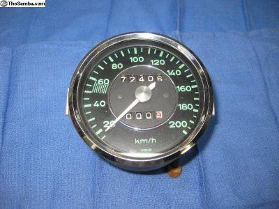 356 200 Km/h Speedometer