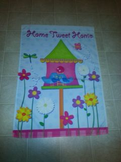 Home Tweet Home Decorative Flag