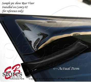 Purchase Sun Guard Rear Visor Wind Shield Deflector Toyota Corolla 2003-2007 S CE LE v2 motorcycle in La Puente, California, US, for US $43.95