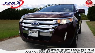 2011 Ford Edge Limited (Bordeaux Reserve Red Metallic)