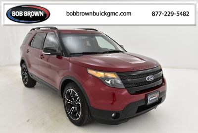 2015 Ford Explorer Sport (Ruby Red Metallic Tinted Clearcoat)
