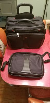 Swiss Gear Laptop Bag & Travel Roller