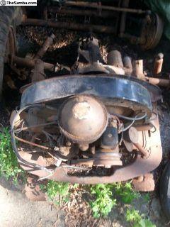 36 hp Engine and Split Case Transmission 1960