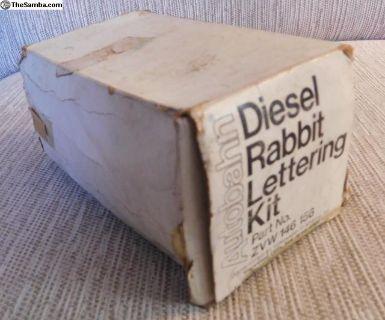 Rabbit Diesel Stripe Kit