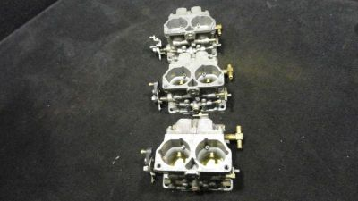 Buy SET OF 3 CARBURETORS MERCURY/MARINER 1993-1995 200/225HP OUTBOARD BOAT (527) motorcycle in Gulfport, Mississippi, US, for US $290.38