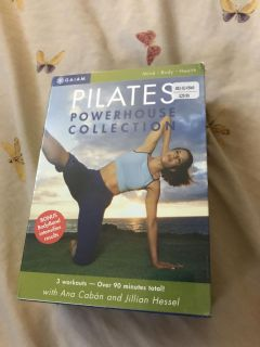 New in plastic Pilates powerhouse collection dvd set new with tags $29.99