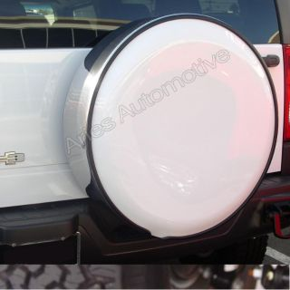Find Aries 5TC Spare Tire Cover 06-10 H3 Small Tire w/Stainless Steel Ring motorcycle in Naples, Florida, US, for US $518.29