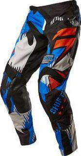Purchase Shift Strike Army Mens MX/Offroad Pants Cyan Blue/Black/Orange motorcycle in Holland, Michigan, United States, for US $88.67