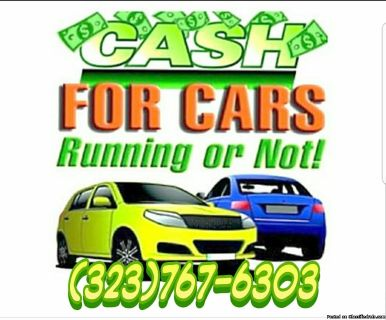 HIGHEST PRICE FOR YOUR JUNK/USED CAR!!!