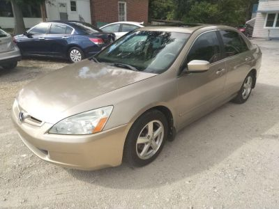 2005 Honda Accord EX (Gold)