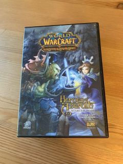 New world of Warcraft trading card game