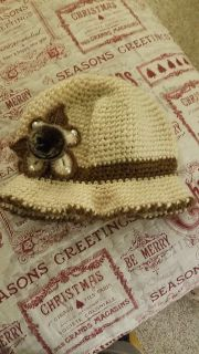 Adorable hat one-size-fits-most hand asking $3