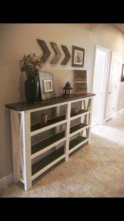 Entry tables - built to order