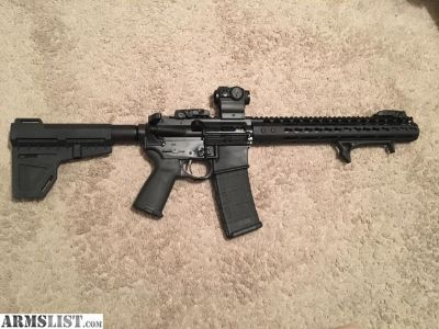 """For Sale: Custom built 11"""" AR15"""
