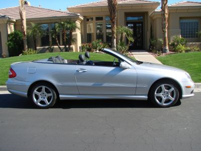 2005 Mercedes-Benz CLK 500 Convertible