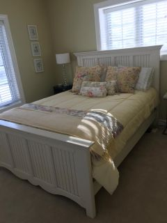 Queen Bed with matching Armoire