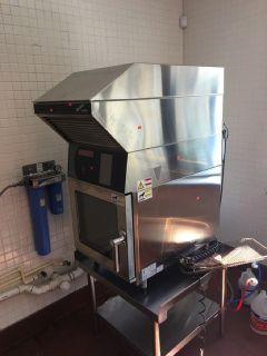 Blodgett Mini Hoodini Combi Oven RTR#7033538-01