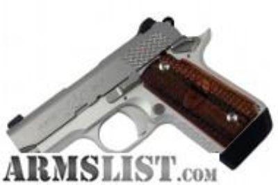 For Sale: Kimber Micro 9 Stainless Raptor 3300109