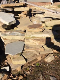 Stacks of flagstone, pick up today!