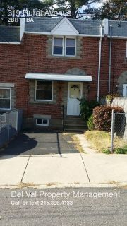 2-Story Row Home for Rent Now - 319 Rural Avenue - Washer/Dryer