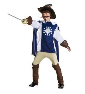 Child musketeer / explorer costume sz L. $50 retail