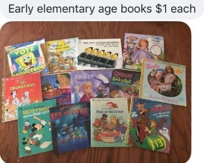 Elementary age books