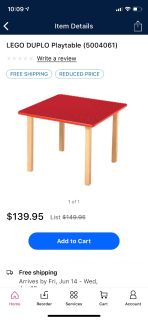Looking for a LEGO table