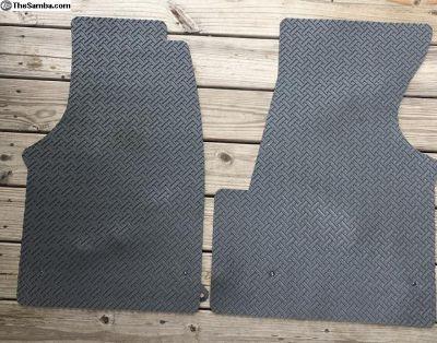 Rubber Eurovan floor mats