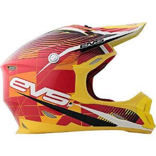 Buy EVS T7 Helmet Crossfade Yellow XL 338-30165 XLarge VortexT7 Series motorcycle in Holt, Michigan, US, for US $169.00